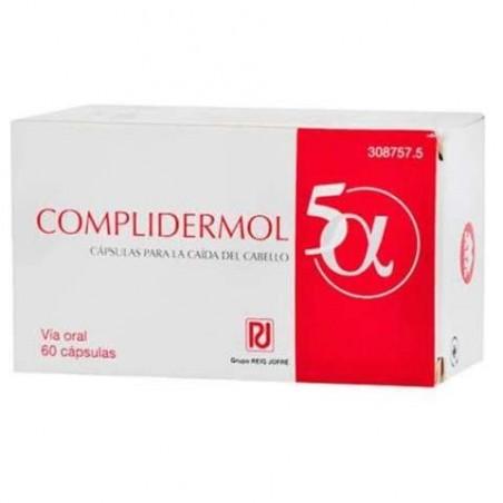 Comprar COMPLIDERMOL 5 ALFA 60 CAPS