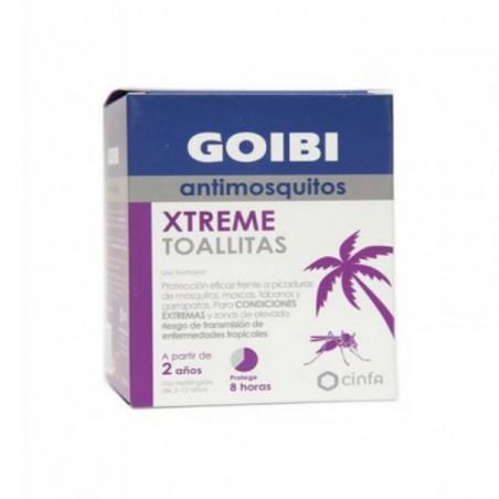Comprar GOIBI ANTIMOSQUITO XTREME 16 TOALLITAS