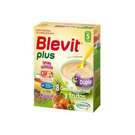 Comprar BLEVIT PLUS DUPLO 8 CEREALES Y FRUTAS 600 G