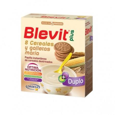 Comprar BLEVIT PLUS DUPLO 8 CEREALES Y GALLETAS 600 G