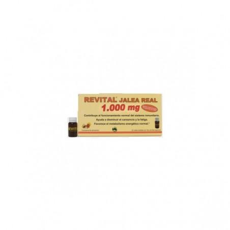Comprar REVITAL JALEA REAL AMPOLLAS BEBIBLES 20 AMP
