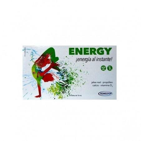 Comprar ENERGY 10 ML 20 VIALES