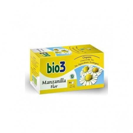 Comprar BIO3 MANZANILLA ECOLÓGICA 25 BOLSITAS