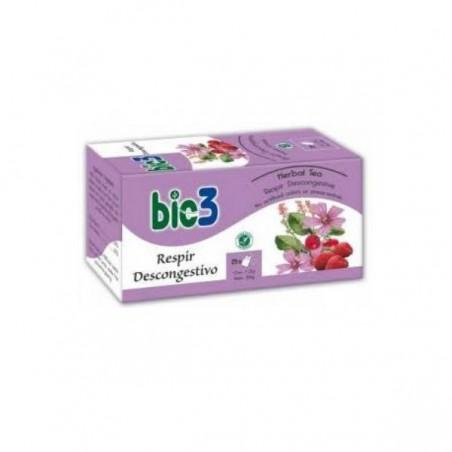 Comprar BIE3 RESPIR DESCONGESTIVO 25 BOLSITAS
