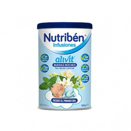 Comprar NUTRIBÉN INFUSIÓN ALIVIT BUENAS NOCHES 150 G