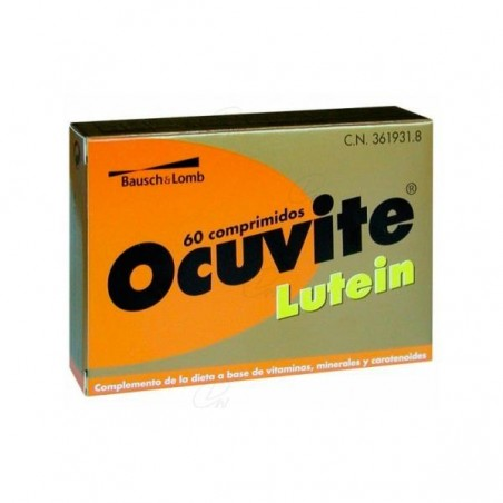 Comprar OCUVITE LUTEIN 60 COMP