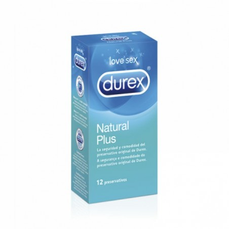 Comprar DUREX NATURAL PLUS EASY ON 12 UDS