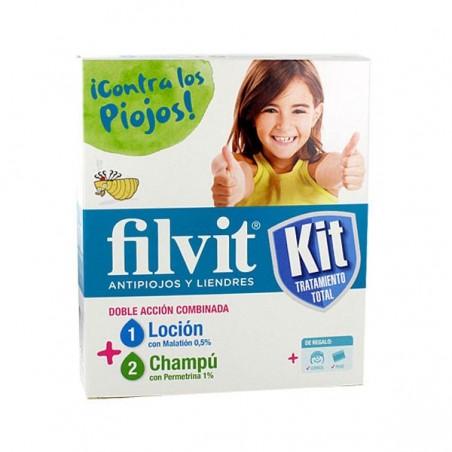 Comprar FILVIT LOCIÓN + CHAMPÚ KIT 100 + 100 ML