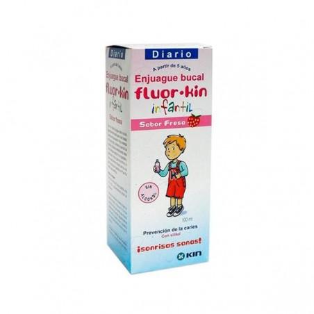 Comprar FLUOR KIN INFANTIL COLUTORIO SEMANAL 0,2