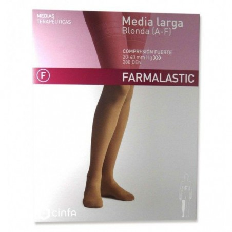 Comprar MEDIA LARGA (A-F) COMP NORMAL BEIGE T - REINA PLUS