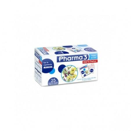 Comprar PHARMA3 DIET & DETOX 25 BOLSITAS