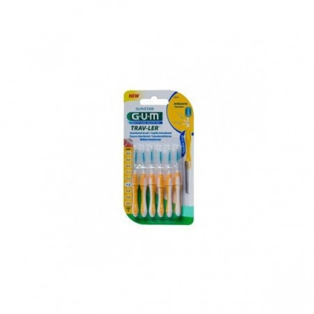 Comprar CEPILLO INTERDENTAL GUM EXTRAFINO 1.3 MM 4 UDS