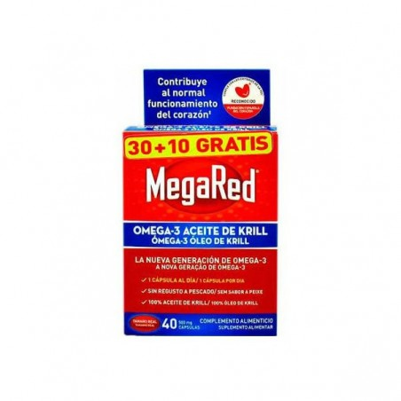 Comprar MEGARED 30+10 GRATIS