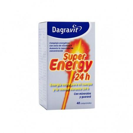 Comprar DAGRAVIT SUPER ENERGY 24 H 40 COMP